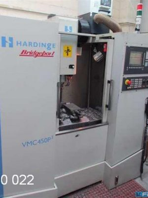 دستگاه فرز Machining Center - Vertical HARDINGE - BRIDGEPORT VMC 450 P3 / 810 DE Shop Mill