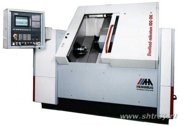 دستگاه تراش CNC مدل Slantbed Mikroturn 100 CNC