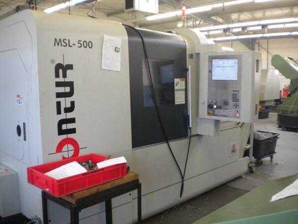 دستگاه تراش CNC LatheCONTURMSL-500