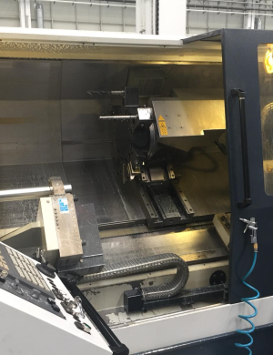 دستگاه تراش CNC LatheSpinnerTC800L 110MCY