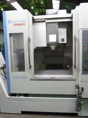 دستگاه فرز vertical milling machine HARDINGE BRIDGEPORT VMC 760 XP³ NEW