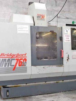 دستگاه فرز CNC Machining Center, VerticalBRIDGEPORT VMC 760 / 20