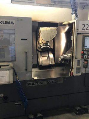 دستگاه تراش CNC LatheOKUMA MULTUS B200-W