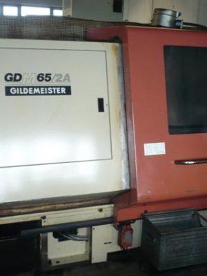 دستگاه تراش CNC latheGILDEMEISTERGDM 65/2A