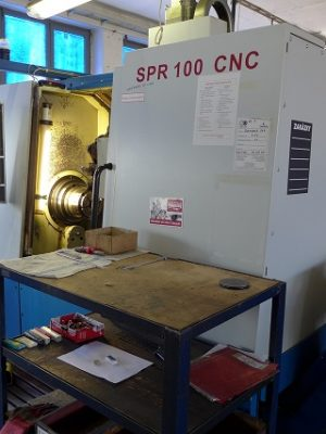 دستگاه تراش CNC LatheZPS SPR 100 CNC