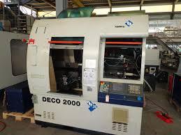 دستگاه تراش CNC automatic latheTORNOS BECHLERDECO 2000 13