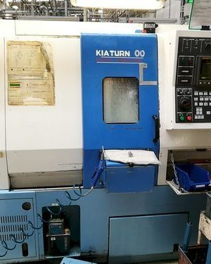 دستگاه تراشCNC lathe KIA SUPER KIA TURN 200