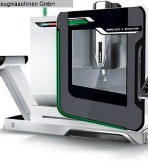 دستگاه فرز Vertical machining center DMG DMC 635V Ecoline