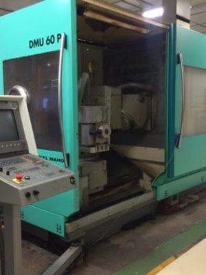 دستگاه فرزUniversal VMCDMG DMU 60 P
