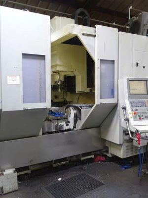 دستگاه فرز 5Axis Machining Center Bridgeport VMC 600 XR 5AX