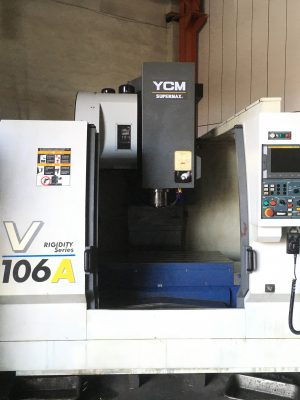 دستگاه فرز 3Axis VMC X 1020 Y 6000 Z 600 mm YCM - SUPERMAX - FANUC MXP100i V 106 A NEW