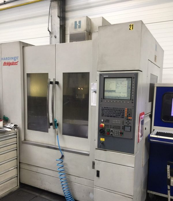 دستگاه فرز cnc vertical machining centre Bridgeport VMC610 XP3