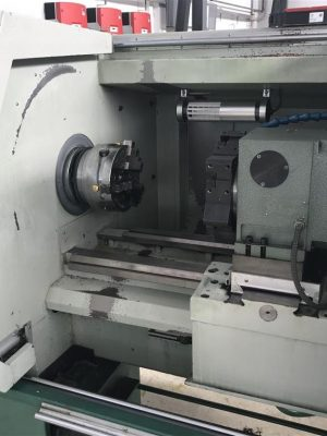 دستگاه تراش CNC LatheJ&W SK 6136H / 750