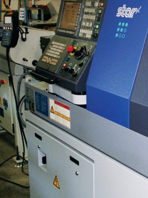 دستگاه تراش STAR CNC SWISS TYPE AUTOMATIC LATHE STAR MICRONICS Co., Ltd. SR-32J