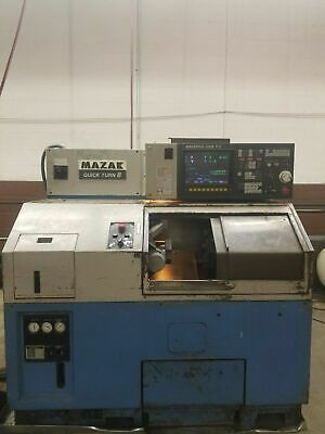 دستگاه تراش Lathe CNC MAZAK QUICK TURN 8 QT8