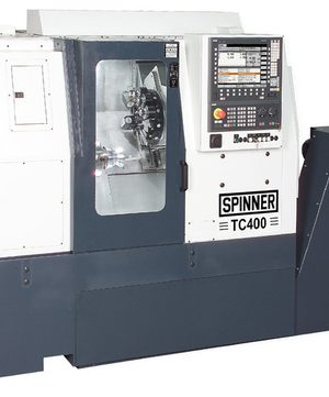 دستگاه تراش CNC Lathe with indexing Chuck Spinner TC400-52