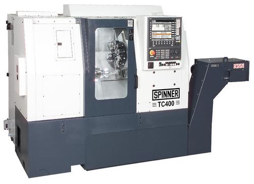 دستگاه تراش CNC Lathe with indexing ChuckSpinner TC400-52