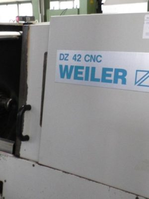 دستگاه تراش CNC Lathe - Inclined Bed Type WEILER DZ 42 CNC
