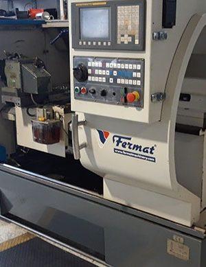 دستگاه تراش CNC LathesCNC Lathe type CAK6140VA, Fanuc