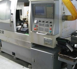 دستگاه تراش CNC Lathes CB-32M automatic lathe with accessories