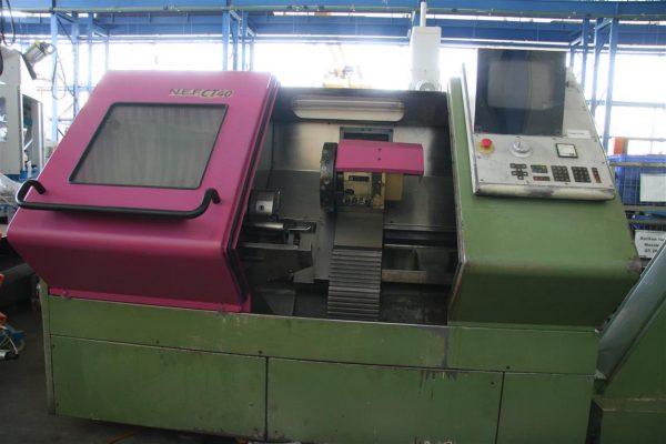 دستگاه تراش Heavy duty CNC latheGILDEMEISTER N.E.F. CT 40