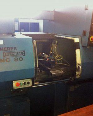 دستگاه تراش CNC Lathe Scherer Feinbau SNC80