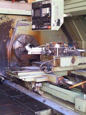 دستگاه تراش CNC LathesMazak PowerMaster CNC Oil Country Lathe