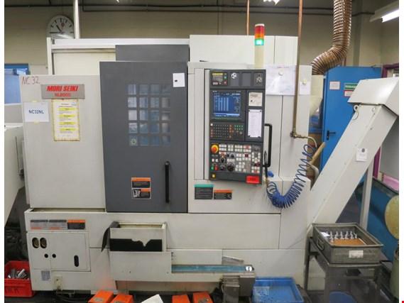 دستگاه تراش CNC Lathe AxisY/Monotorized ToolsMori SeikiNL 2000 SY/500 - هنگام خرید دستگاه cnc کارکرده به چه فاکتورهایی توجه کنیم؟