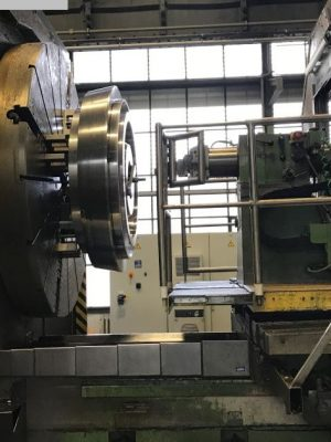 دستگاه تراش Facing and Centering Lathe RAVENSBURG KH 100-M- CNC