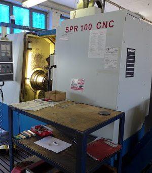 دستگاه تراش CNC LathesCNC Lathe SPR 100NEW