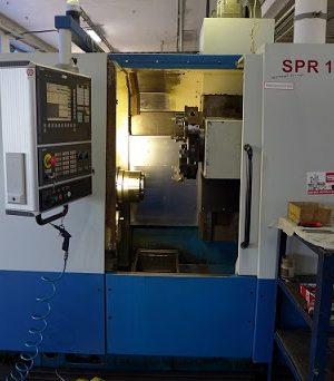 دستگاه تراش Centre lathesCNC Lathe SPR 100