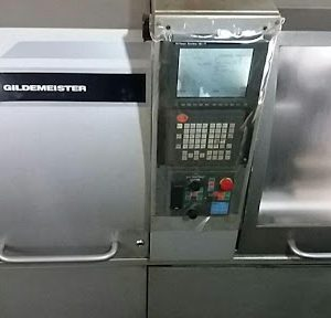 دستگاه تراش Cnc lathe with barfeederGildemeister GD32